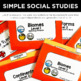 Simple Social Studies: Geography File Folders for Special