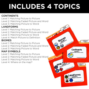 Simple Social Studies: Geography File Folders for Special Education