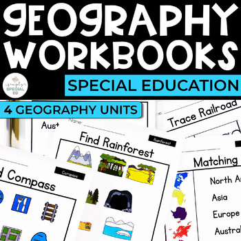 Simple Social Studies: Geography Workbook Bundle