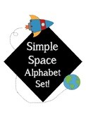 Space Theme Alphabet