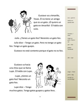 Simple Spanish Stories