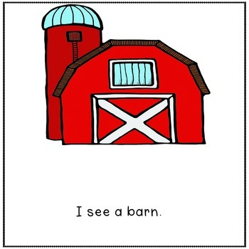 Down on the Farm Sight Word Book and Kit Unit