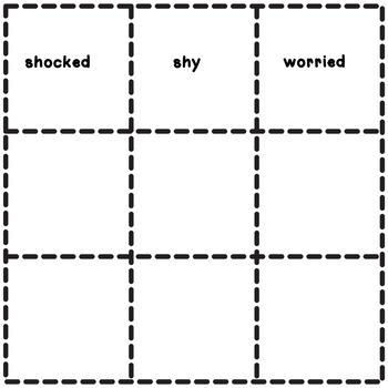 Emotions Sight Word Emergent Reader