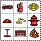 Fire Fighter Sight Word Book and Kit Unit Safety
