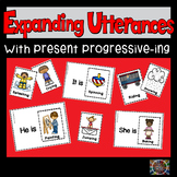 Speech Therapy Verb Cards