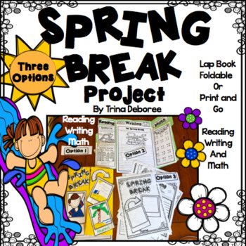Spring Break Project for First and Second Graders