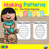 Simple Spring Patterns Worksheet ~ Easter Activities