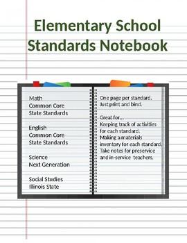 Simple Standards Notebook