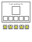 Simple Star Reward Chart