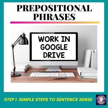Simple Steps to Sentence Sense Step 1 Google Drive Resource