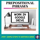 Prepositional Phrases Grammar Worksheets Google Drive for