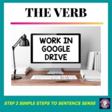 The Verb Grammar Worksheets Google Drive for Distance Learning