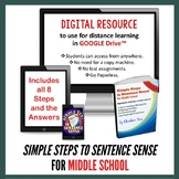 Grammar | Simple Steps to Sentence Sense Middle School for