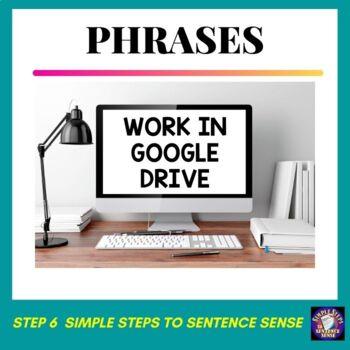 Simple Steps to Sentence Sense Step 6 Google Drive Resource