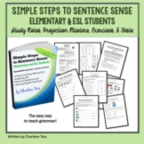 Grammar Worksheets eBook Simple Steps to Sentence Elementa