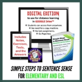 Grammar | Simple Steps to Sentence Sense Elementary for Di