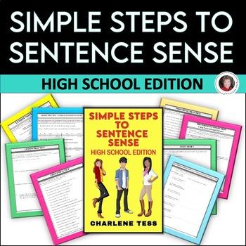 Simple Steps to Sentence Sense High School Grammar Worksheets eBook