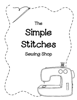 Simple Stitches Sewing Shop (Dramatic Play)-Free