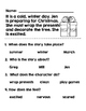 Simple Stories and Reading Comprehension Questions