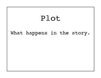 Simple Story Elements