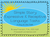 Simple Story Receptive and Expressive Language Tasks