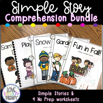 Simple Story and Comprehension - Growing Bundle