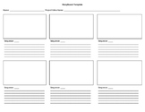 Simple Storyboard template