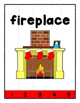 Simple Strip Puzzles - Teaching by the Letter - Focus Letter F