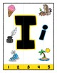 Simple Strip Puzzles - Teaching by the Letter - Focus Letter I