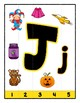Simple Strip Puzzles - Teaching by the Letter - Focus Letter J