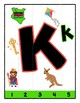 Simple Strip Puzzles - Teaching by the Letter - Focus Letter K