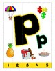 Simple Strip Puzzles - Teaching by the Letter - Focus Letter P