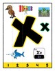Simple Strip Puzzles - Teaching by the Letter - Focus Letter X