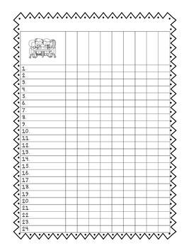 Simple Student Checklist