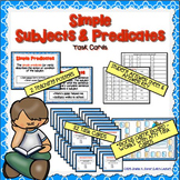 Simple Subject & Predicate Task Cards