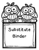 Simple Substitute Binder Information