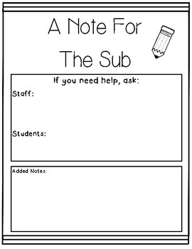 Simple Substitute Binder Information