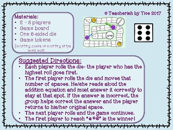 Simple Subtraction Board Game