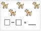 Simple Subtraction Math Journal Prompts (Kindergarten CCSS Aligned)