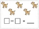 Simple Subtraction Math Journal Prompts (Kindergarten CCSS