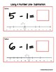 Simple Subtraction- Using A Number Line