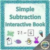 Simple Subtraction interactive book