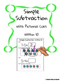 Simple Subtraction - with pictorial cues