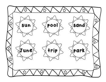 Simple Summer Bingo