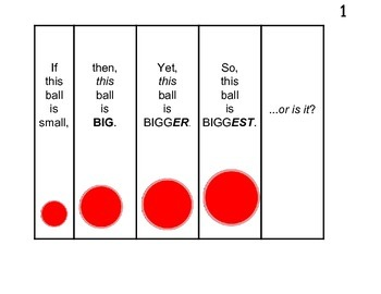 Simple Superlatives - If This Ball Is Small... - Fan Book
