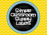 Simple Supply Labels/iLabels