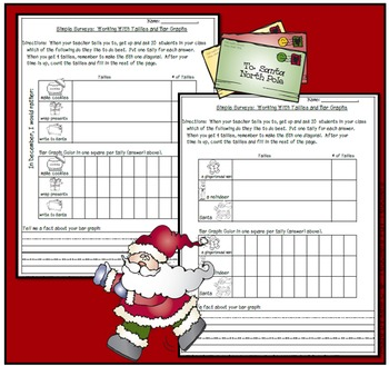 Simple Surveys: Tallies and Bar Graphs for December