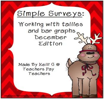 Simple Surveys: Tallies and Bar Graphs for December