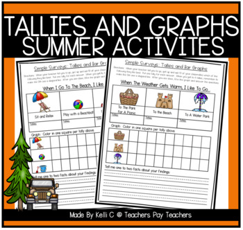 Simple Surveys: Tallies and Bar Graphs for Summer