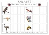 Simple Syllables Worksheet